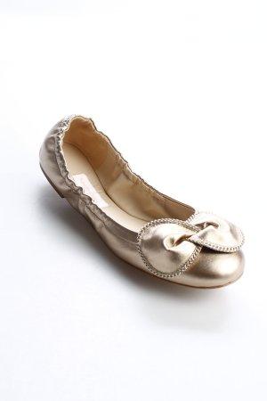 "See by Chloé Ballerinas ""Clara Ballerina Nappa Alba Lack 39 "" goldfarben"