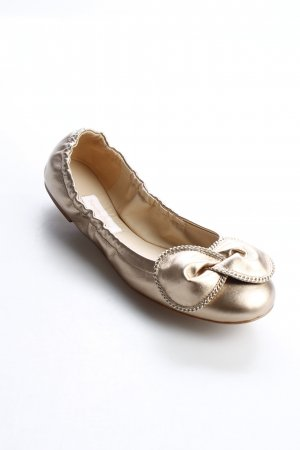 "See by Chloé Ballerinas "" Clara Ballerina Nappa Alba Lack"" goldfarben"