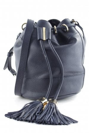 "See by Chloé Borsellino ""Vicki Bucket Bag Small Midnight Blue"" blu scuro"