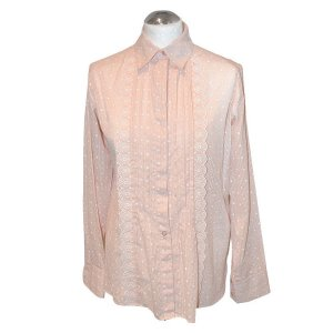 See by Chloé Bluse, Nude, Baumwolle, Gr. 36