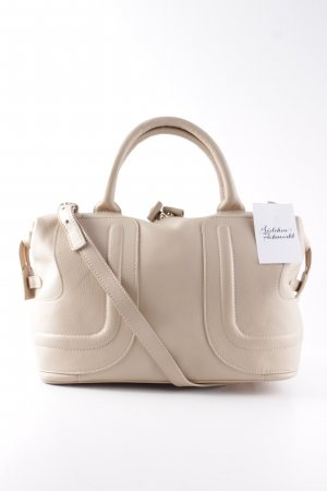 See by Chloé Bowling Bag beige-gold-colored business style