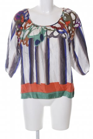 See by Chloé Carmen-Bluse abstraktes Muster Business-Look