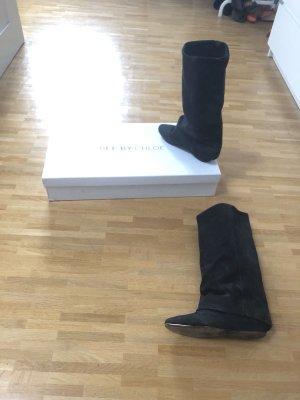 See By Chloe Gamaschen Echt Wildleder Leder Blogger Stiefel Boots 36 37