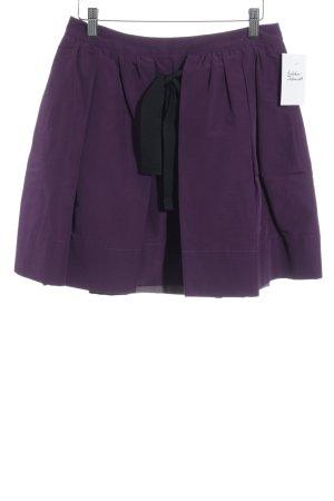 See by Chloé Jupe évasée violet style simple
