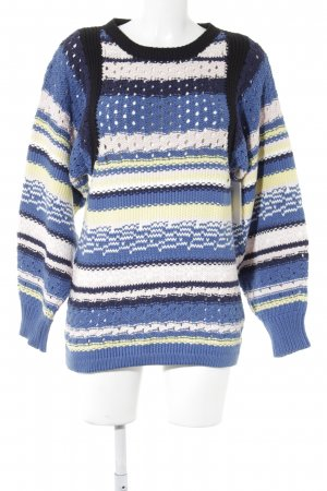 See by Chloé Grobstrickpullover Streifenmuster Casual-Look