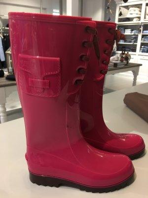 See by Chloé Botas de agua rosa neón poliamida