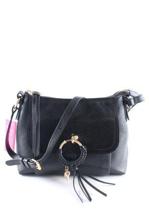 """See by Chloé Handtasche """"Joan Shoulder Bag Suede Black"""" schwarz"""