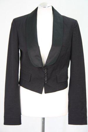 Chloé Blazer court noir coton