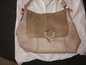 See by Chloé Carry Bag beige leather