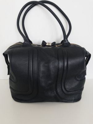 See by Chloé Kay 24 Hours Bag Tote Leder-Tasche in Schwarz
