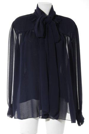 See by Chloé Langarm-Bluse dunkelblau Elegant