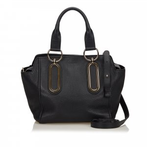 See by Chloé Satchel black leather