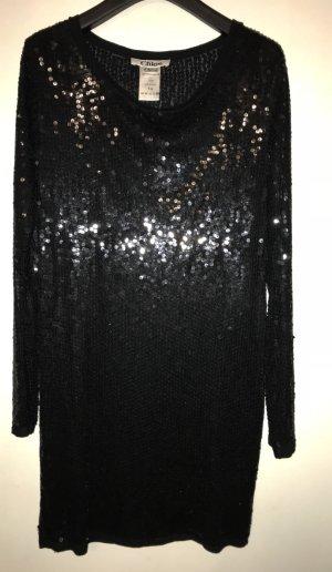 See by Chloe/Luxus Abendkleid mit pailletten /
