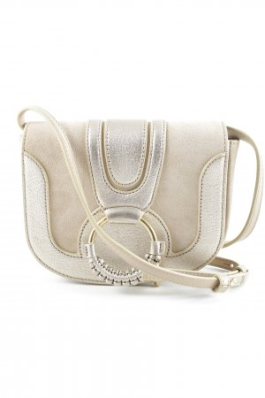 "See by Chloé Minitasche ""Hana Mini Crossbody Metallic Pearl Beige"""