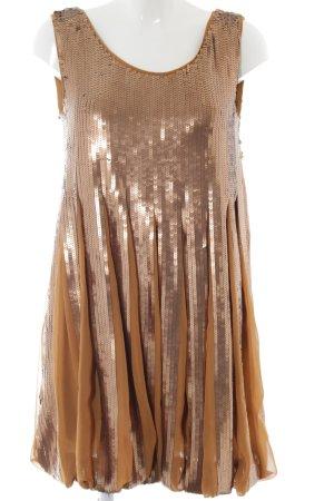 See by Chloé Pailettenkleid goldfarben-bronzefarben Elegant
