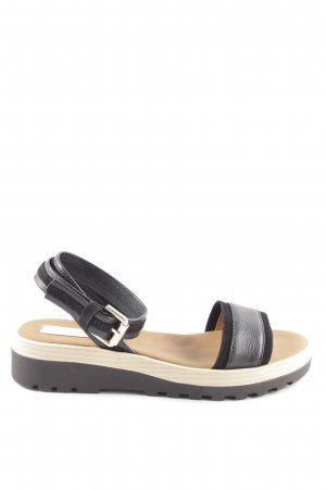 See by Chloé Plateau-Sandalen schwarz Casual-Look