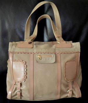 See by CHLOE poya/scallop Leder nude/beige super süße Luxustasche!