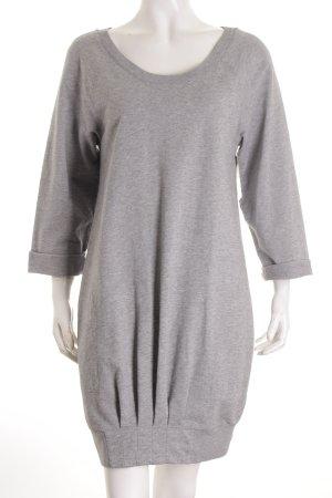 See by Chloé Pulloverkleid grau meliert Kuschel-Optik