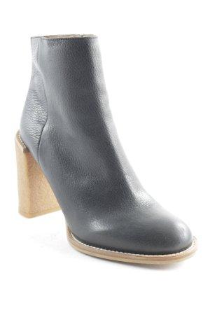 See by Chloé Zipper Booties black-light brown casual look