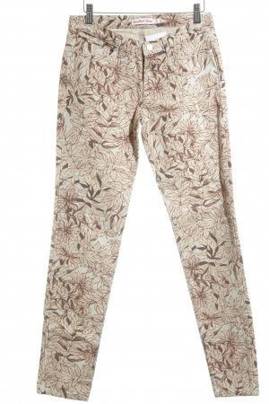 See by Chloé Röhrenjeans florales Muster Casual-Look