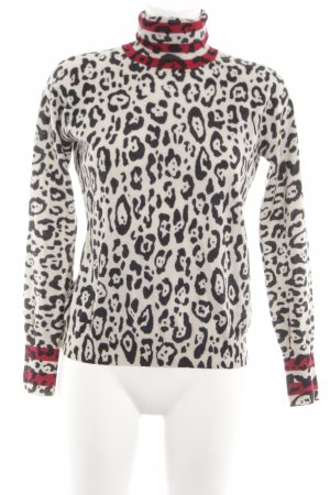 See by Chloé Rollkragenpullover Animalmuster Casual-Look