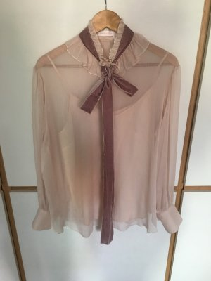 See by Chloé schleifen Bluse