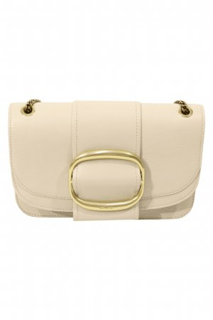 See by Chloé Schultertasche in Creme aus Leder