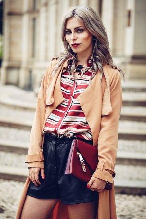 See by Chloé Seidenbluse Streifenmuster Eleganz-Look