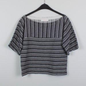 See by Chloé Camicia oversize nero-bianco Cotone
