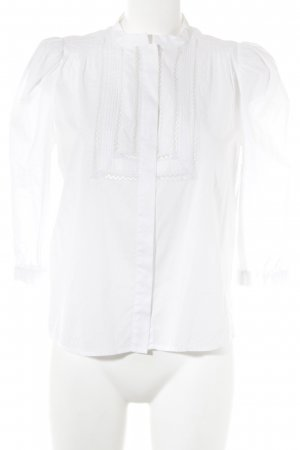 See by Chloé Blusa de cuello alto blanco look casual
