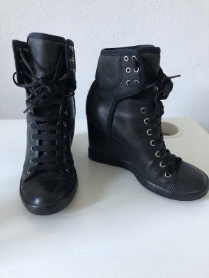See by Chloé Wedge Booties black