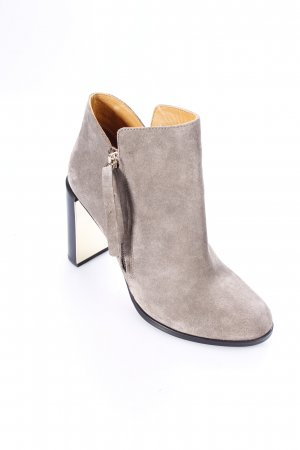 "See by Chloé Stiefeletten ""Nara Suede Ankle Boot Grey 40 """