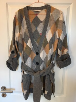 See by Chloé Knitted Coat multicolored wool