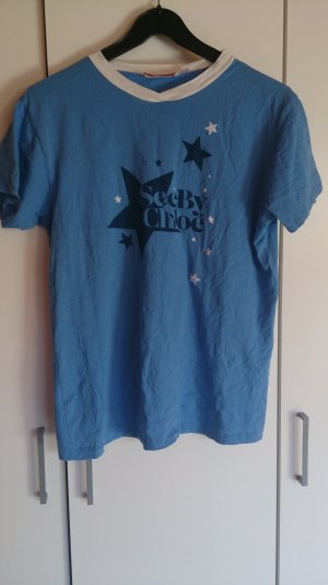 See by Chloé T-Shirt mit Sternen-Druck