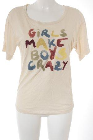 See by Chloé T-Shirt Schriftzug gedruckt Casual-Look