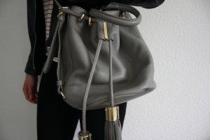 See by Chloé Sac seau gris clair cuir