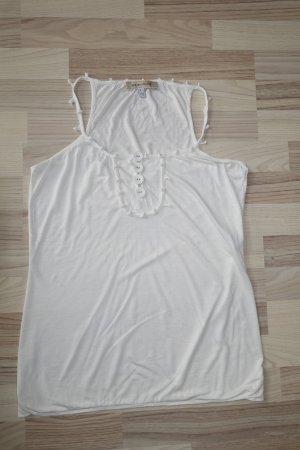 SEE BY CHLOÉ Top in weiß, mit netten Verzierungen, in ital. 46 oder  EUR 42