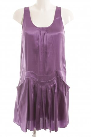 See by Chloé Trägerkleid dunkelviolett klassischer Stil