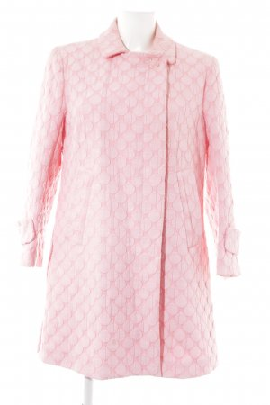 See by Chloé Trenchcoat rosa-hellrosa Punktemuster Vintage-Look