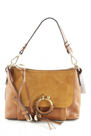 "See by Chloé Borsa a spalla ""Joan Grained "" marrone"