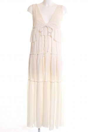 See by Chloé Volantkleid creme Casual-Look
