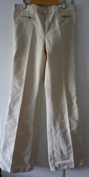 See by Chloe wide leg Jeans Hose Gr. S (36/38) beige