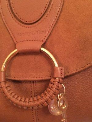 See Chloe Hana Large Hobo cognac Tasche Handtasche Neu Boho Style