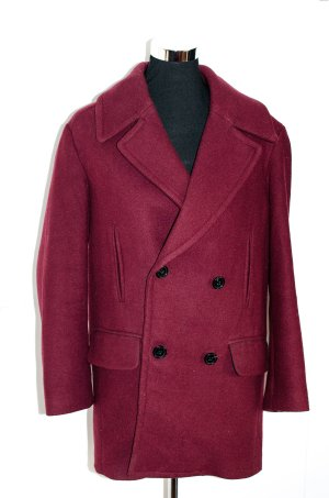 See U Soon About You Woll-Winter-Mantel Caban Jacke Gr. 1 wie S / 36 NP 219€