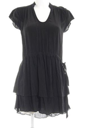 See u soon Blusenkleid schwarz Elegant