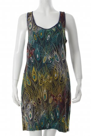 See u soon Kleid Animalmuster extravaganter Stil