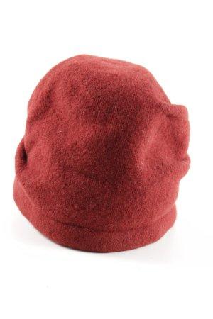 Seeberger Baker's Boy Cap red casual look