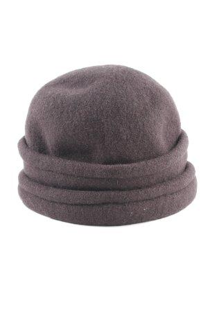 Seeberger Cappello da panettiere marrone scuro stile semplice