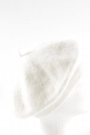 Seeberger Beret white classic style