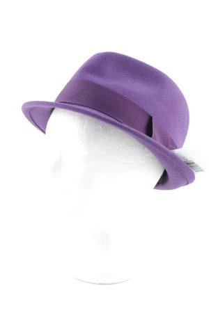 Seeberger Chapeau en feutre violet élégant